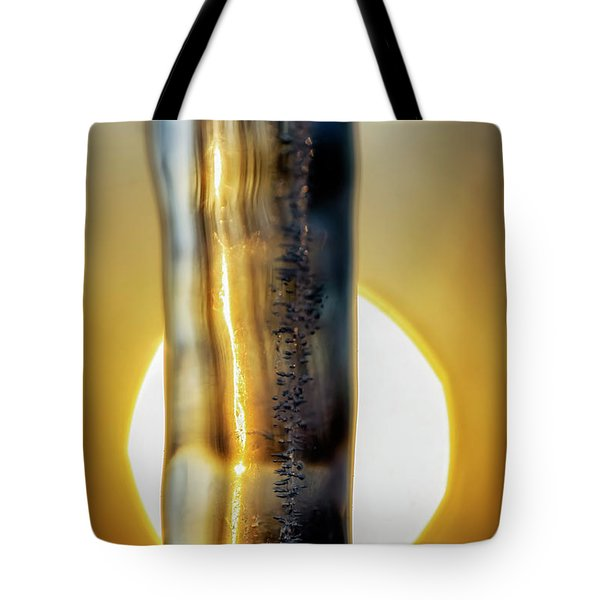 Icicle At Sunrise Tote Bag