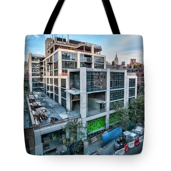 Tote Bag featuring the photograph 500 W21st Oct2014 by Steve Sahm