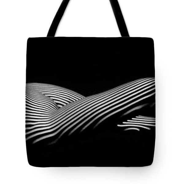 5298 Zebra Woman H Tote Bag