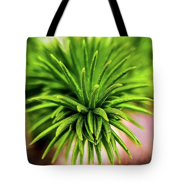 Green Spines Tote Bag