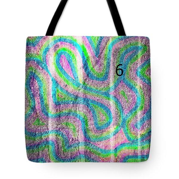 #6 Sidewalk Tote Bag