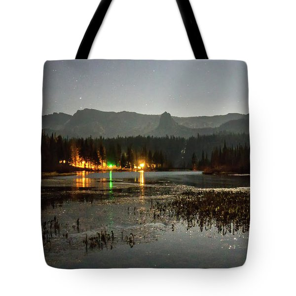 Tote Bag featuring the photograph Sierra National Park Mountains Near Mammoth Lakes Californit by Alex Grichenko