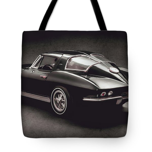 63 Chevrolet Corvette Stingray Tote Bag