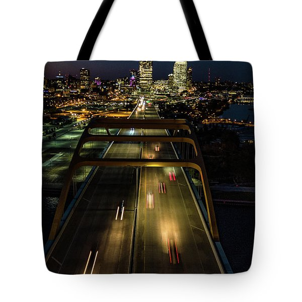 Tote Bag featuring the photograph 794 by Randy Scherkenbach