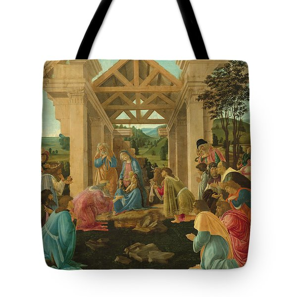 The Adoration Of The Magi Tote Bag