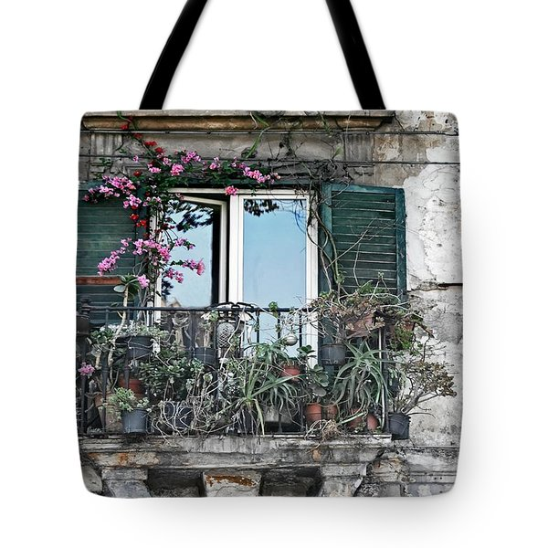 A Balcony In Palermo Tote Bag