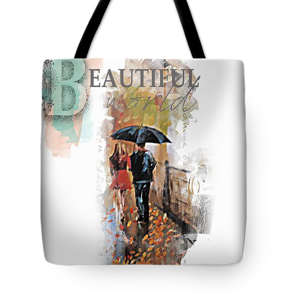 A Beautiful World Part2 Tote Bag