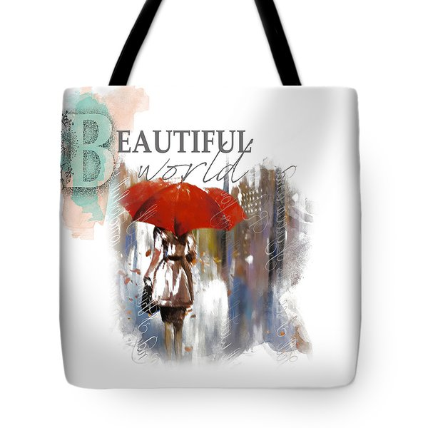 A Beautiful World Part3 Tote Bag