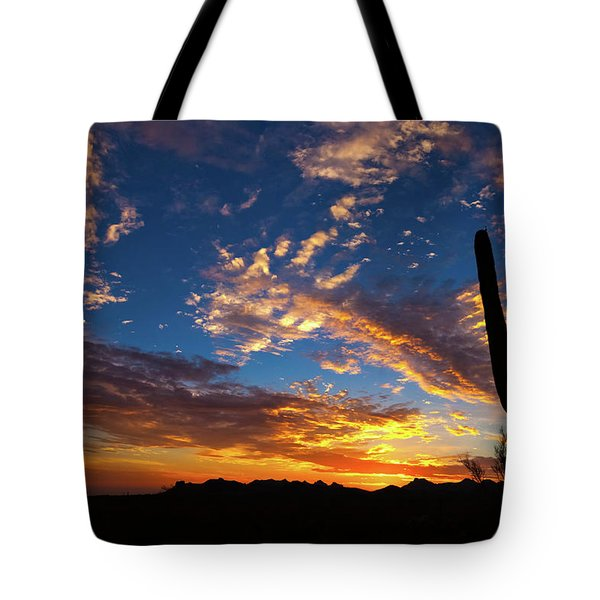 Tote Bag featuring the photograph A Blanket Of Many Colors by Rick Furmanek