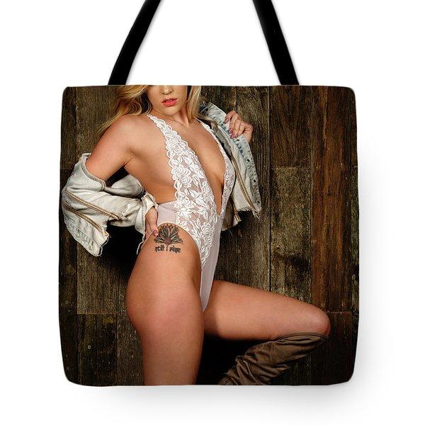A Body Of Symmetry Tote Bag