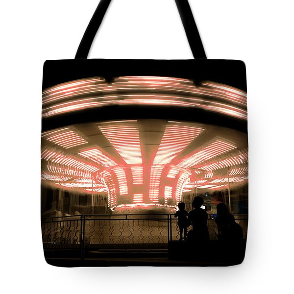A Carousel By Night Tote Bag