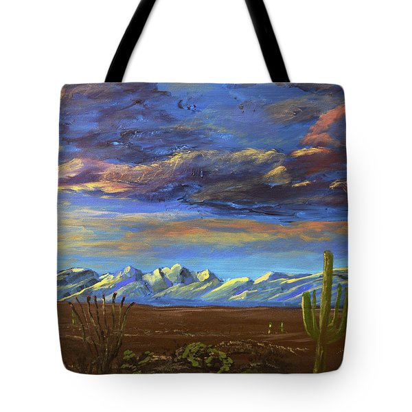 A Catalina Winter Tote Bag
