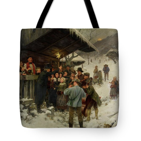 A Christmas Carol In Lucerne, 1887 Tote Bag
