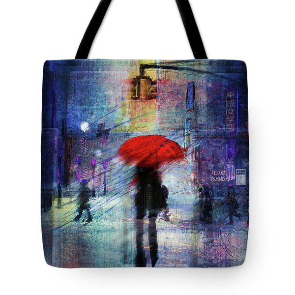 A Christmas In The City Tote Bag