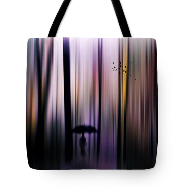 A Colorful Walk Tote Bag