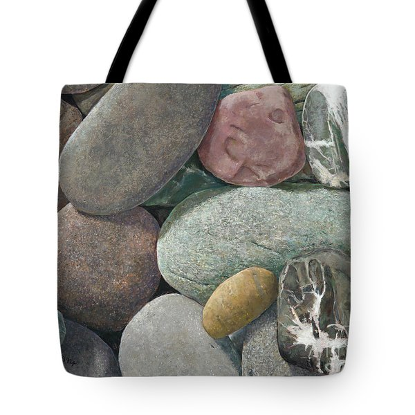 A Congregation Of Stones Tote Bag