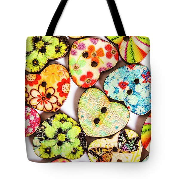 A Craft Of Hearts Tote Bag