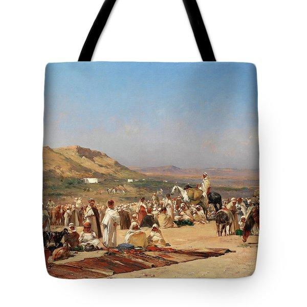 A Desert Market Tote Bag