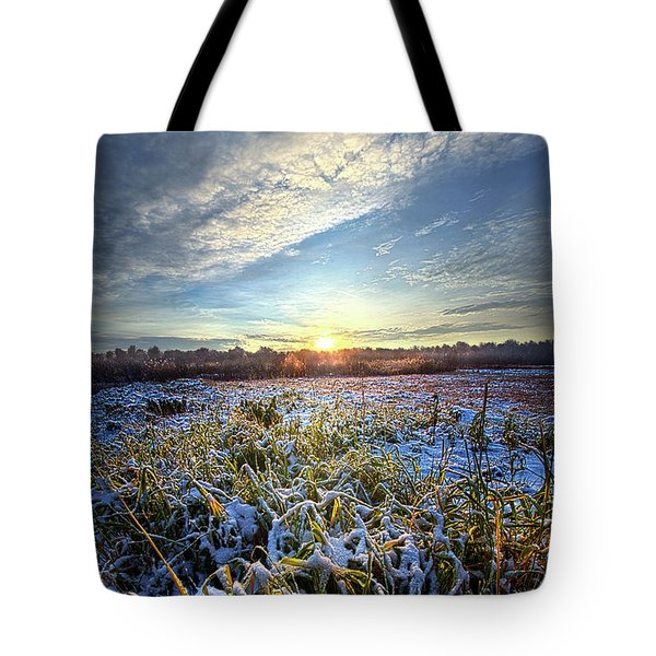 Tote Bag featuring the photograph A Dream Is A Wish That The Heart Makes by Phil Koch