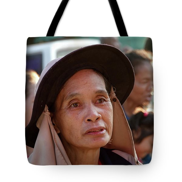 A Face Of Life Tote Bag