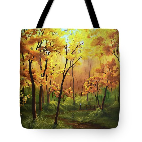 A Forgotten Trail Tote Bag