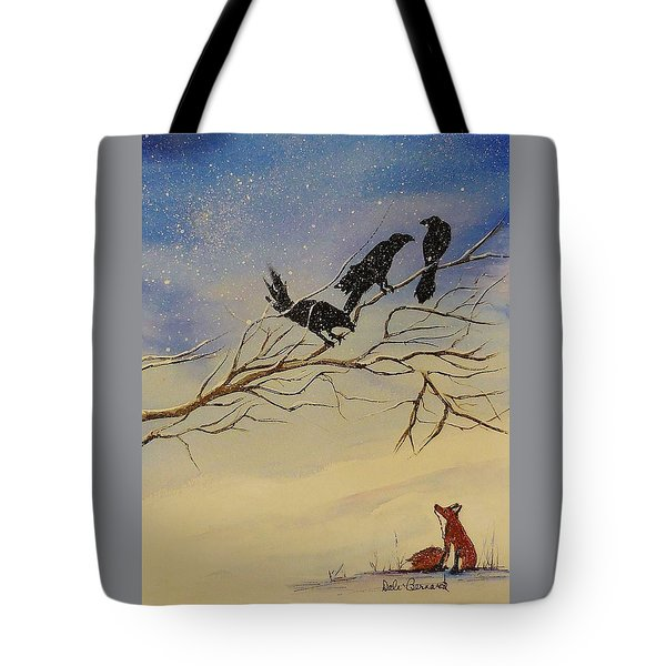 A Fox And His Cronies Tote Bag