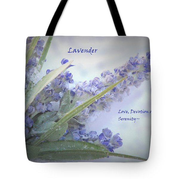 A Gift Of Lavender Tote Bag