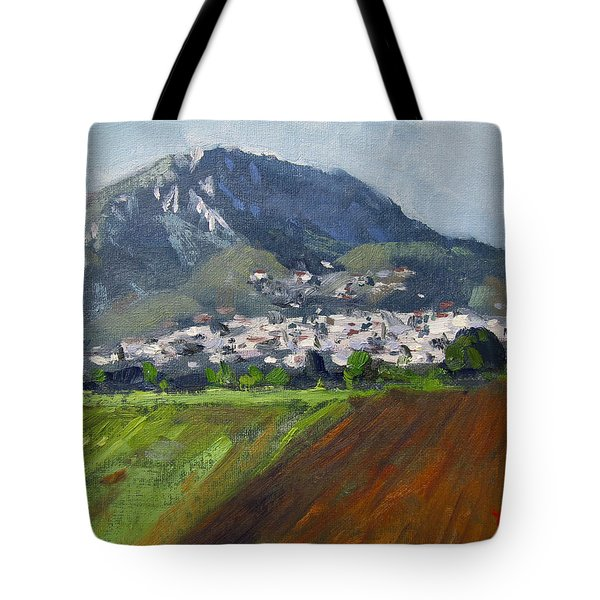 A Greek Village Tote Bag