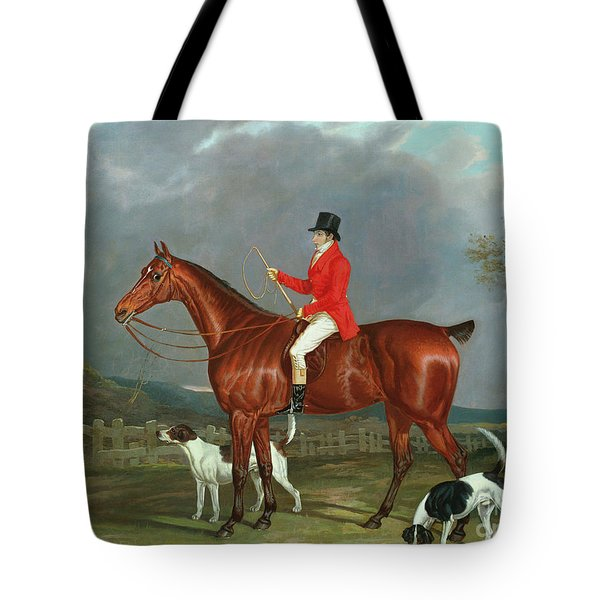 A Huntsman And Hounds, 1824  Tote Bag