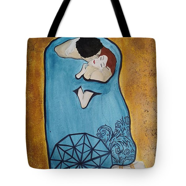 A Kiss From The Heart Tote Bag