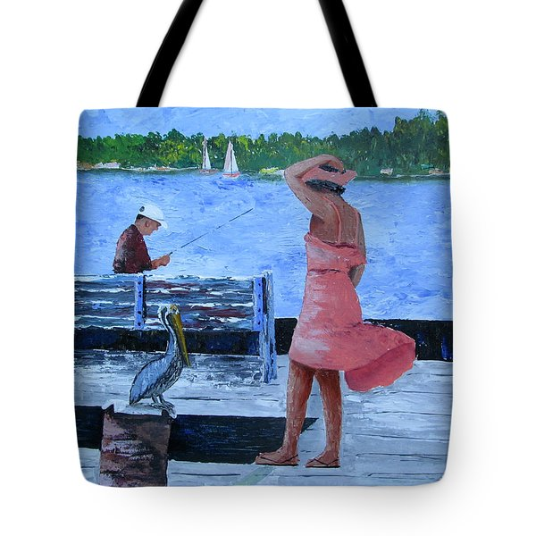 A Little Breeze Tote Bag