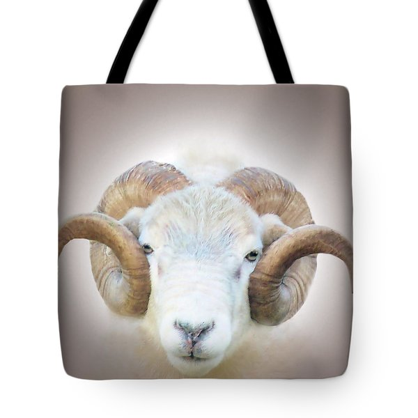 A Little Ram  Tote Bag