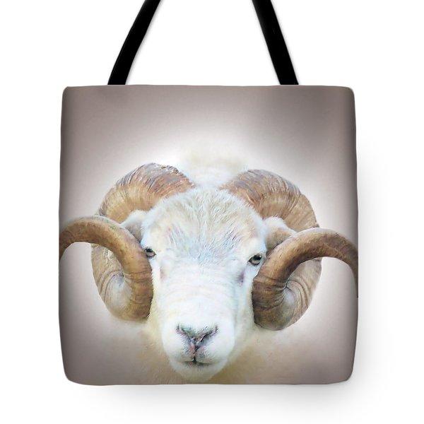 A Little Ram  Tote Bag