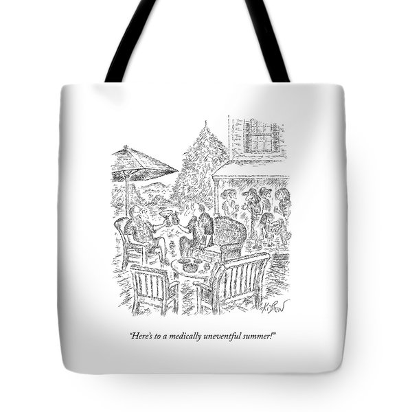 A Medically Uneventful Summer Tote Bag