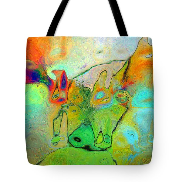 A Message For Miro Tote Bag
