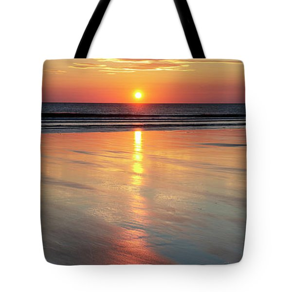 Tote Bag featuring the photograph A Morning Of Reflection by Tim Gainey