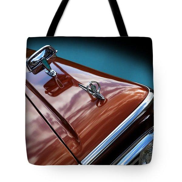 A New Slant On An Old Vehicle - 1959 Edsel Corsair Tote Bag