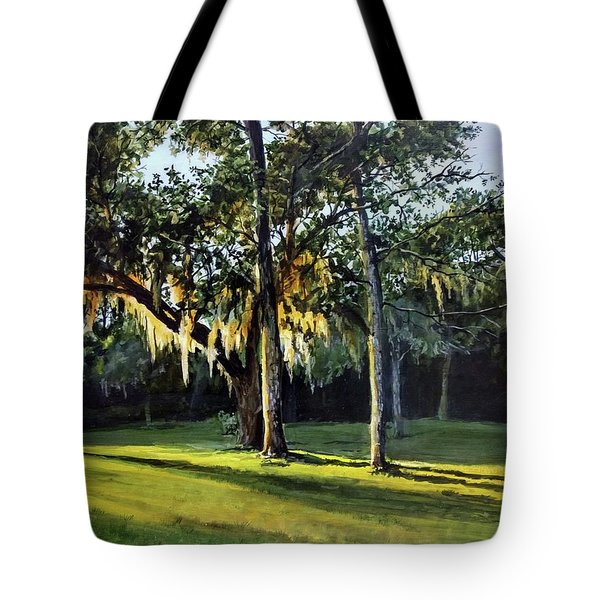 Tote Bag featuring the painting A New Sunset by William Brody