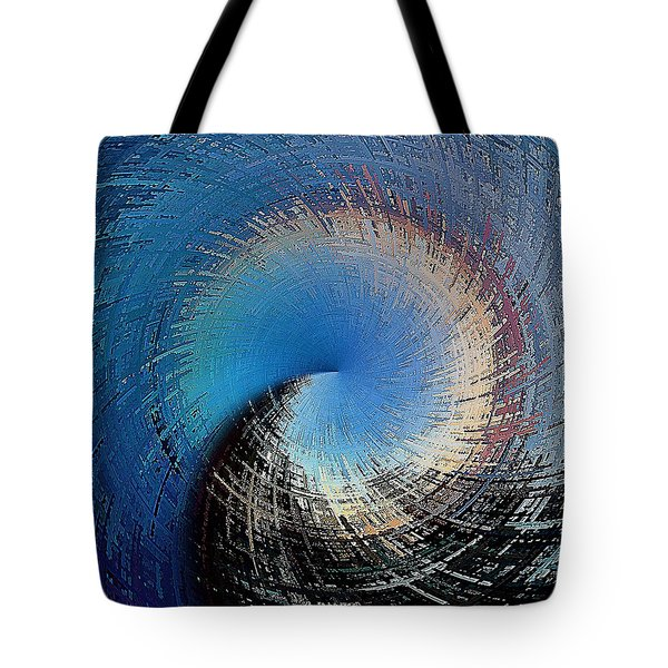 Tote Bag featuring the digital art A Passage Of Time by David Manlove