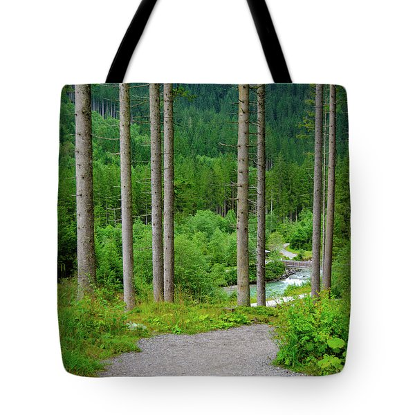 A Path To The River Tote Bag