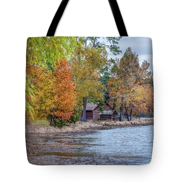 A Peaceful Place On An Autumn Day Tote Bag