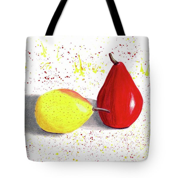 A Pear Of Friends Tote Bag