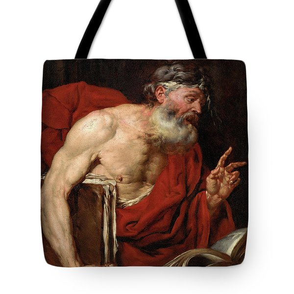 A Philosopher Tote Bag
