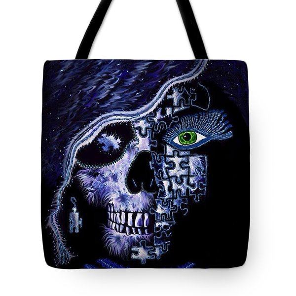 A Piece Of The Puzzle Tote Bag