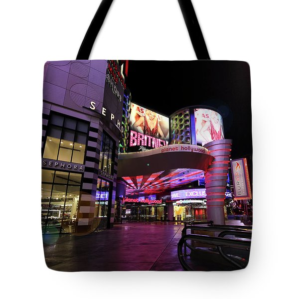 A Planet Hollywood Las Vegas Resort And Casino Tote Bag