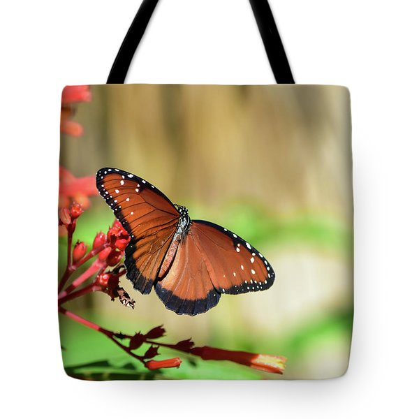 A Queen But Not A Monarch Tote Bag
