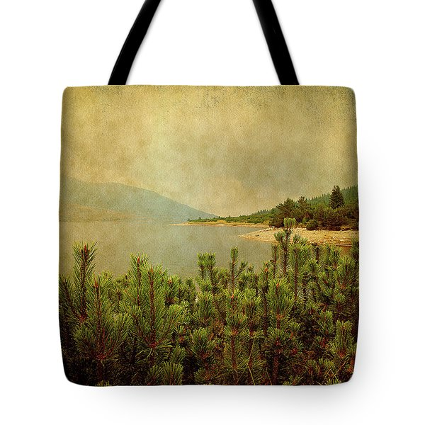 Tote Bag featuring the photograph A Quiet Moment Before Storm... by Milena Ilieva