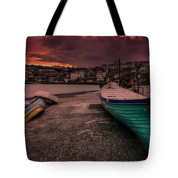 A Quiet Moment - Cornwall Tote Bag