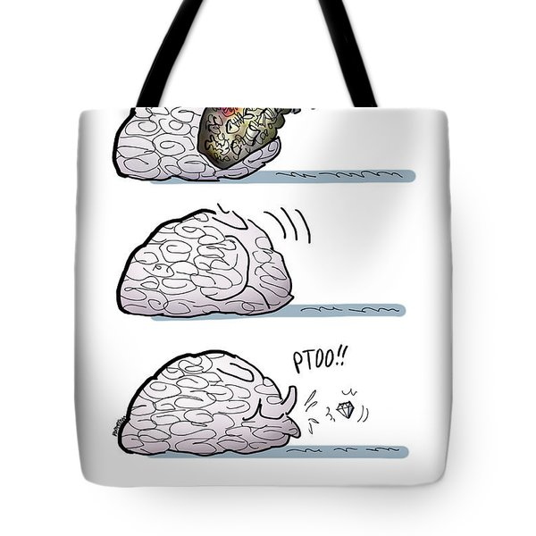 Tote Bag featuring the digital art A Rare Gem by Mark Armstrong