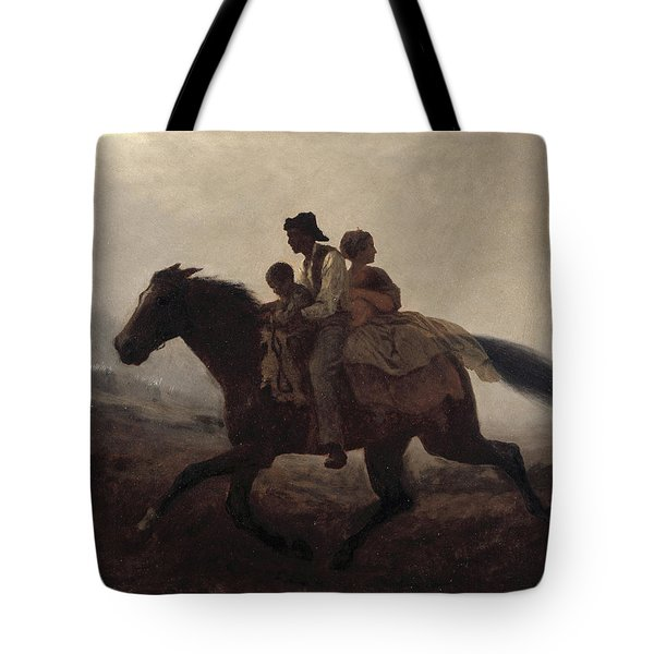 A Ride For Liberty, The Fugitive Slaves, 1862 Tote Bag